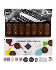 M.Cluizel  Chocolate Tasting Box Nuancier Plantation Noir No. 70