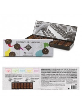 M.Cluizel  Chocolate Tasting Box Nuancier Plantation Noir No. 70