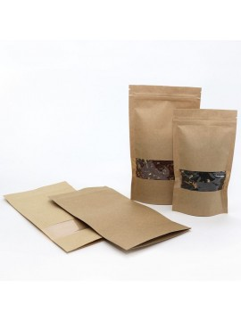 Stand Up Pouches with window