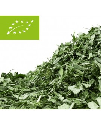 Hemp leafs, cut organic