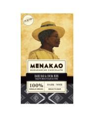 Menakao 100 % čokoláda s kakaovými bôbmi