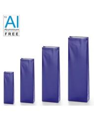 Vrecká s dnom v bloku v klasickom lesklom prevedení - BLUE