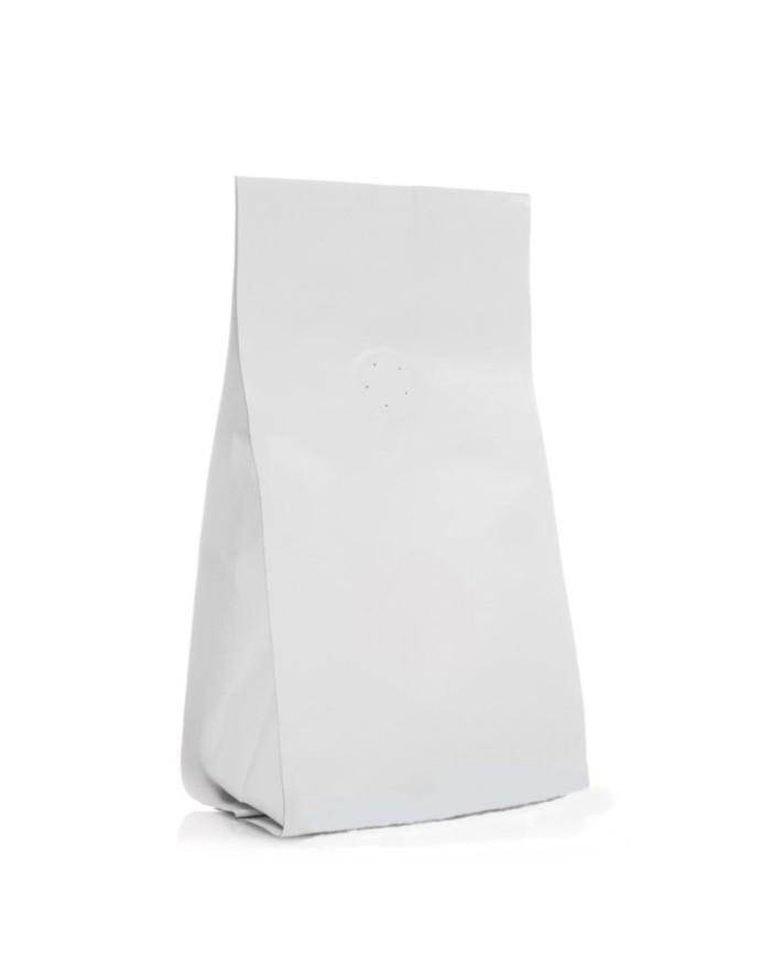 Vrecko Quadro s ventilom biele matné