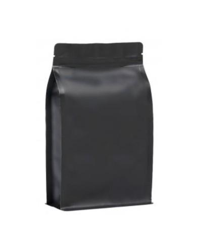BP matt black KRAFT bag with ZIP
