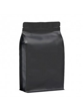 BP matt black KRAFT bag with ZIP