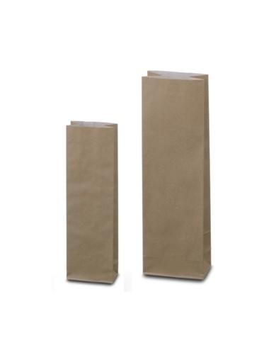 Dvojvrstvové vrecká Natron hnedé