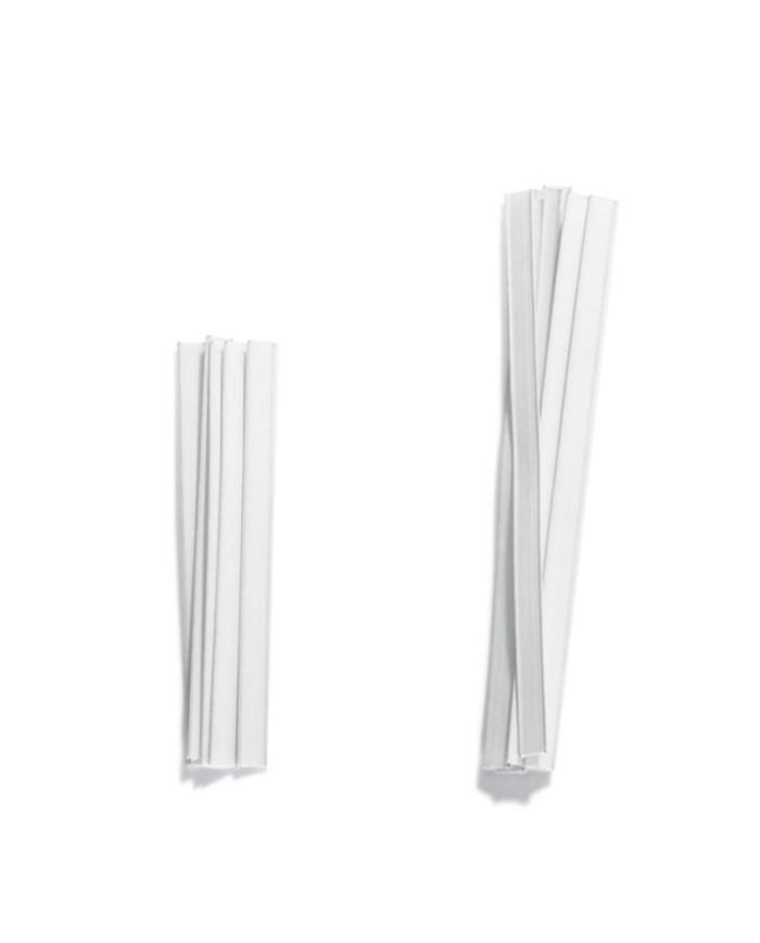 Closing clips white colour