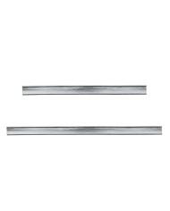 Closing clips silver colour