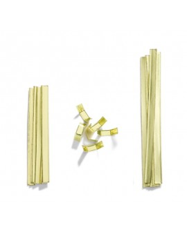 Closing clips gold colour