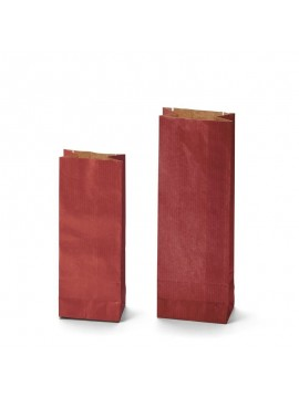 KRAFT red two-layer bags