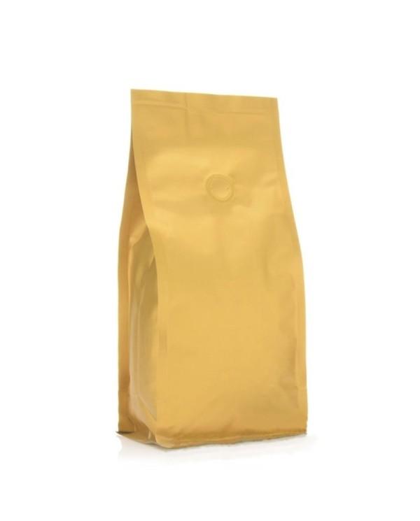 BP bag gold matt with valve