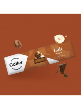 J.Galler - Milk chocolate Praliné Lait
