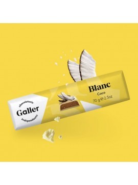 J.Galler - White chocolate Noix de coco