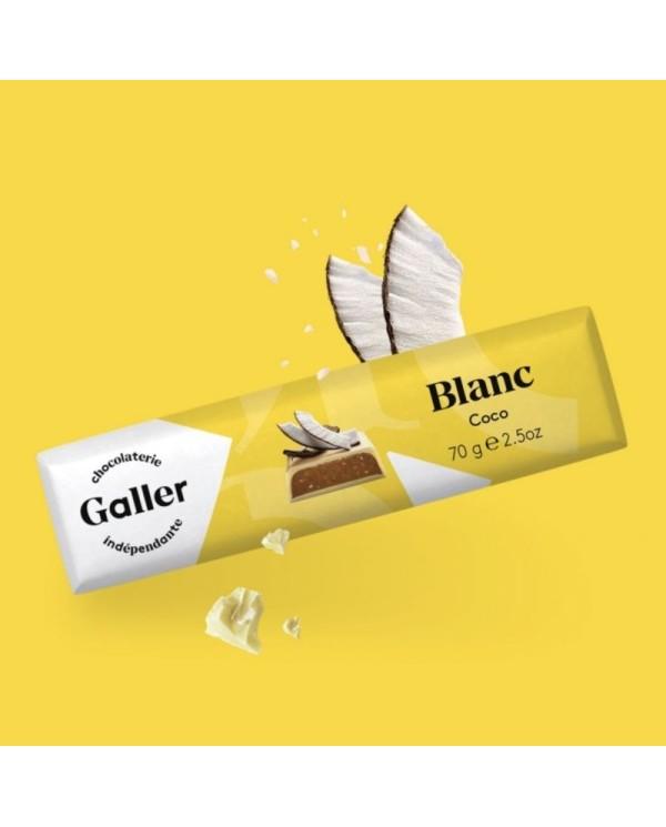 J.Galler - White chocolate Noix de coco