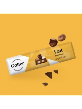 J.Galler - Milk chocolate Noisettes Lait