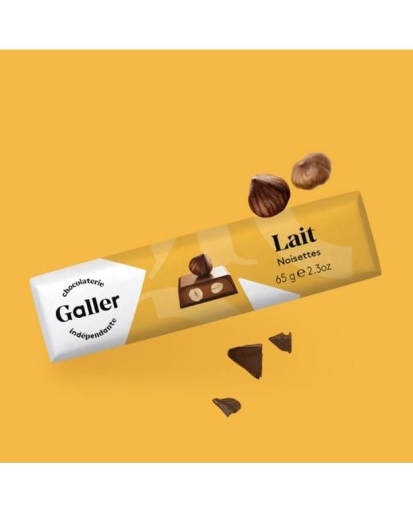 J.Galler - Mliečna čokoláda Noisettes Lait