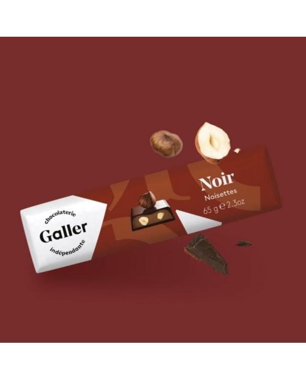 J.Galler - Dark chocolate Noisettes Noir