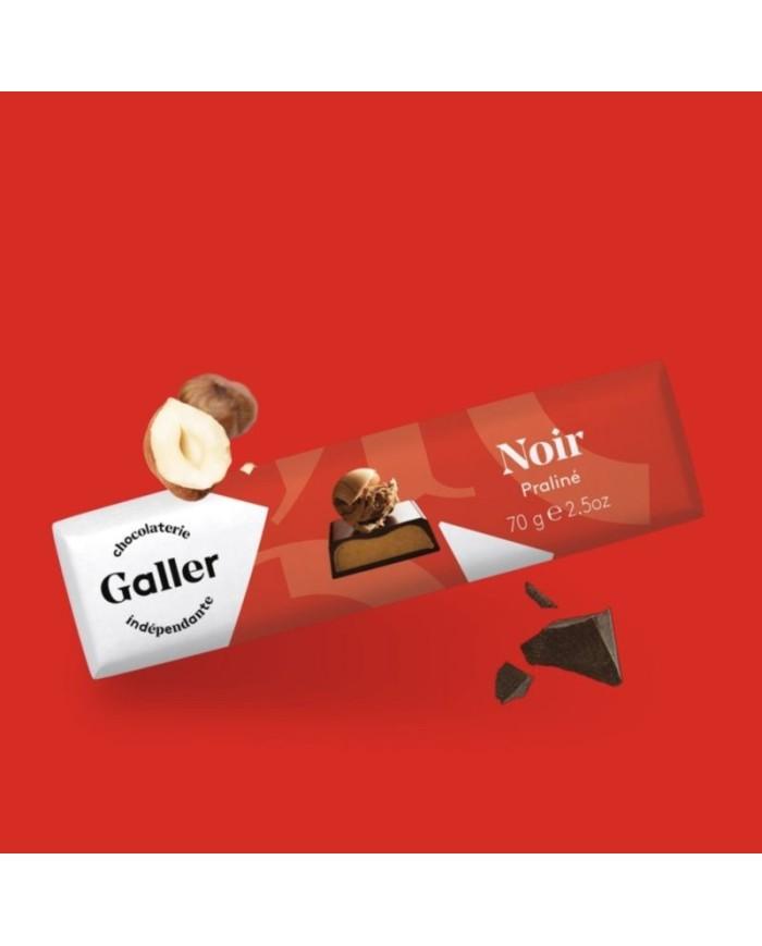 J.Galler - Dark chocolate Praliné Noir
