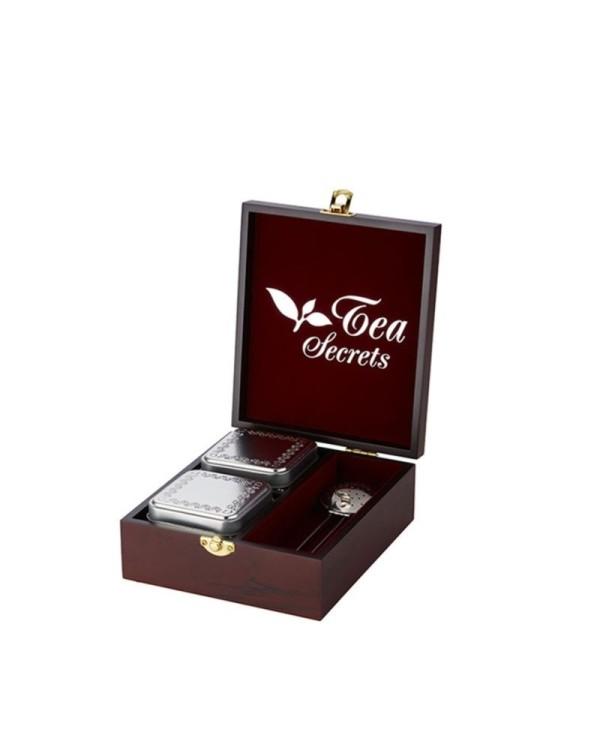 Luxusná drevená kazeta Tea Secrets 2