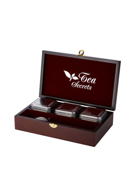 Luxury wooden boxes Tea secrets 3
