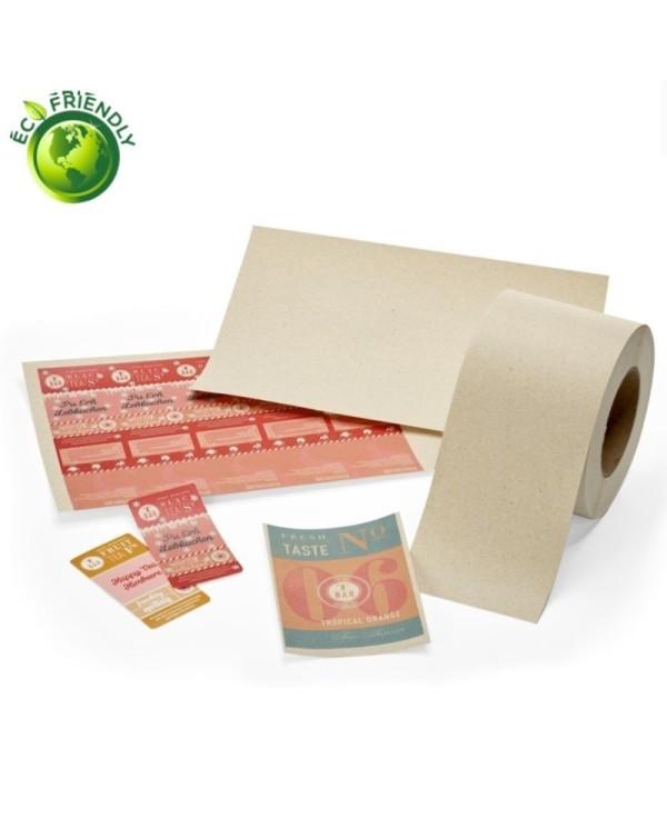 "Label ""grass papier"""