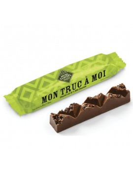 "M.Cluizel- Chocolate bar Just my ""Mon truc a moi"" with nougat"