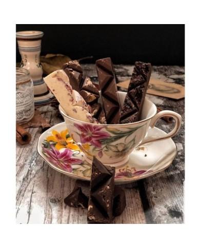 "M.Cluizel-čokoládová tyčinka Len moje ""Mon truc a moi"" s nugátom"