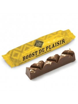 "chocolate bar Intoxicating pleasure ""Boost de plaisir"""