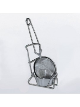 Tea strainer with pad