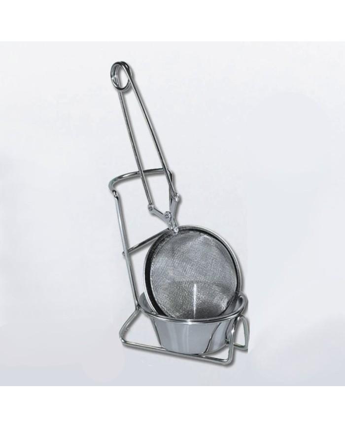 Tea strainer with pad