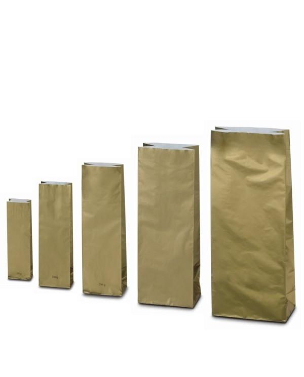 Trovrstvové vrecko zlaté