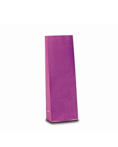 Three layer bag lila colour
