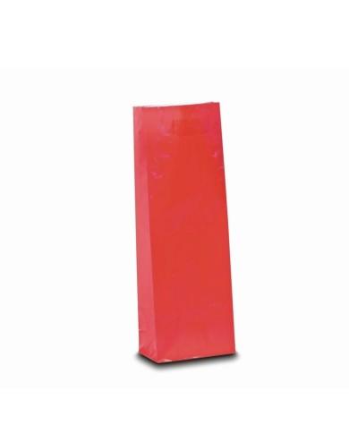 Trovrstvové vrecko jahodovo červená