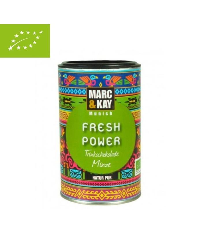 "Chocolate drink Mint organic ""Fresh power"""