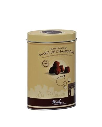Les Parisiennes - Truffes au marc de Champagne 200g