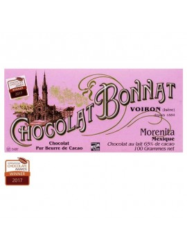 Bonnat Lait Grands Crus Morenita Mexique 65%