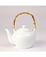 Teapot porcelain Bambus Clasic