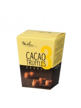 Truffes fantaisie chocolat orange confite