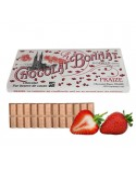 S.Bonnat Ivoire Fraize biela čokoláda s jahodami