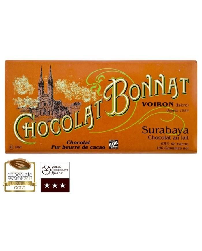 S.Bonnat  Lait Grands Crus Surabaya 65%