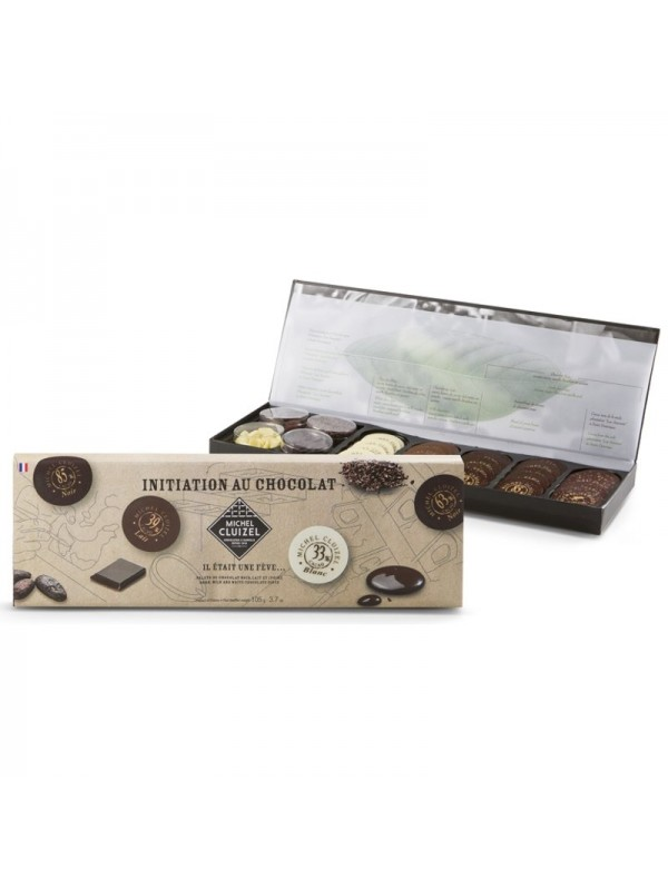 M.Cluizel  Chocolate Tasting Box - 'Once Upon a Bean…'
