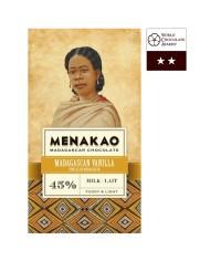 Menakao 45% Madagascan Vanilla Chocolate