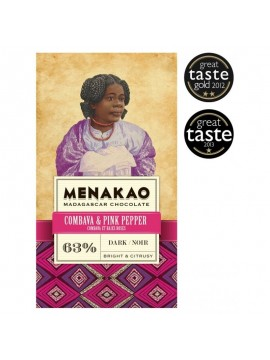 Menakao Dark chocolate combava & rose bay
