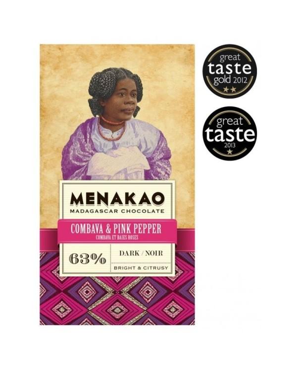Menakao Dark chocolate combava & rose bays