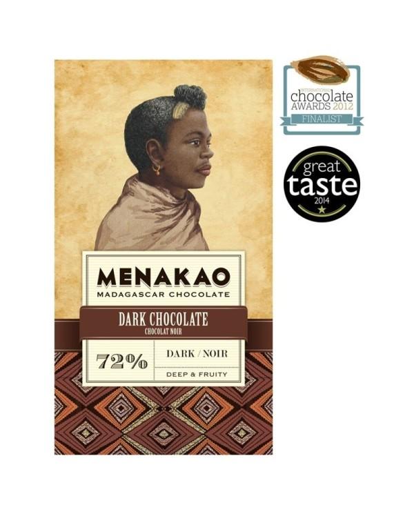 Menakao Dark chocolate 72%