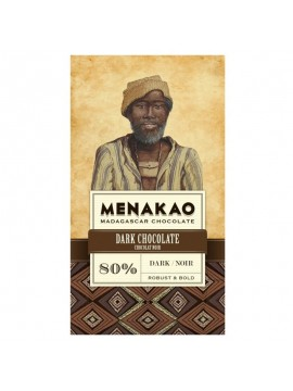 Menakao Dark Chocolate 80% Cocoa