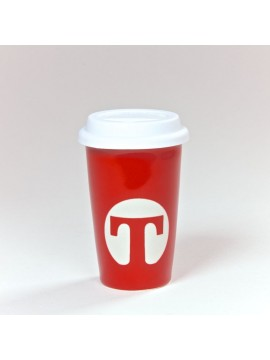 Tea to go Thermo Mug Red