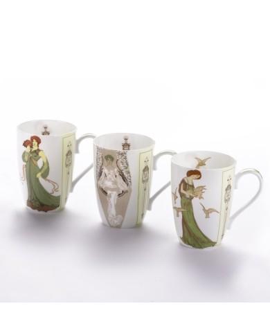 Tea cups set Nostalgia