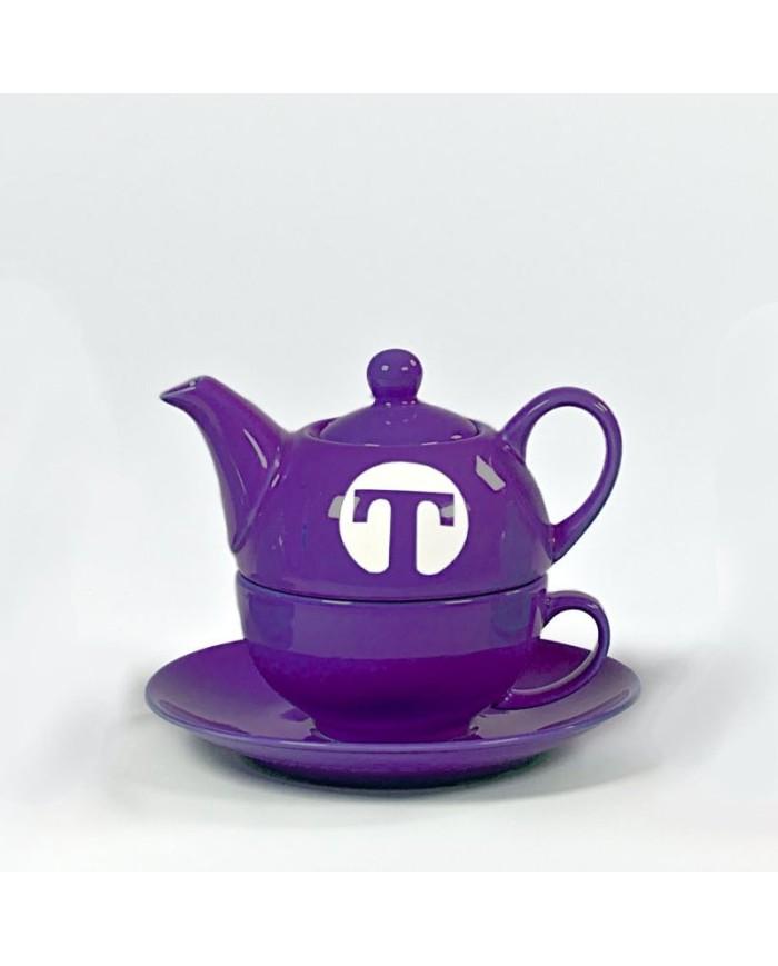 Tea set for one LILA
