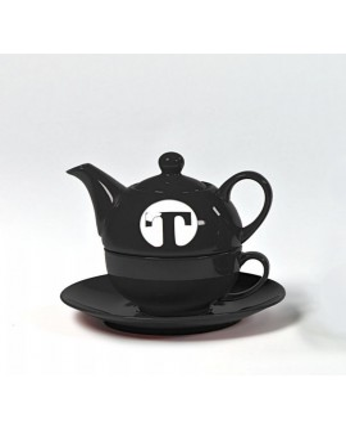 Tea set for one BLACK